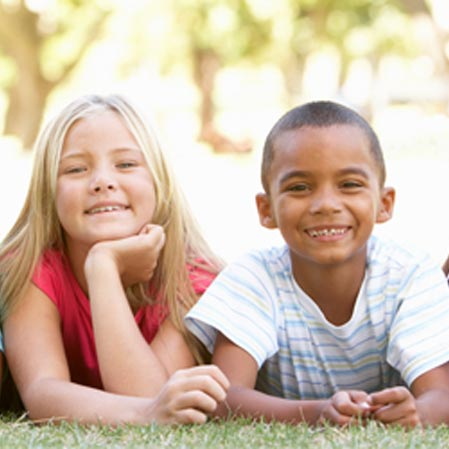 Chiropractic Barrie ON Smiling Children